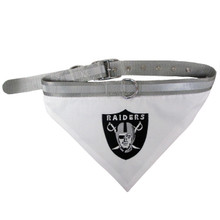 Oakland Raiders Bandana Dog Collar
