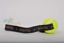 New Orleans Saints  Tennis Ball Tug Dog Toy