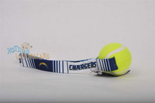 San Diego Chargers  Tennis Ball Tug Dog Toy