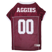 Texas A&M Football Dog Jersey back