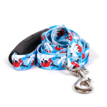 Pirate Skulls EZ-Grip Dog Leash