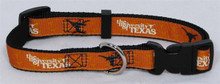U of Texas PREMIUM Dog Collar