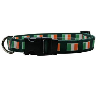 Irish Flag Break Away Cat Collar