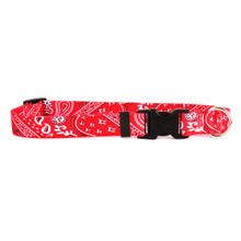 Bandana Red Break Away Cat Collar
