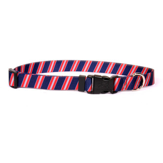 Team Spirit Navy, Red and Gray Break Away Cat Collar