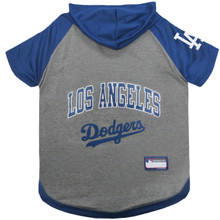 Los Angeles Dodgers Hoodie T-Shirt For Dogs