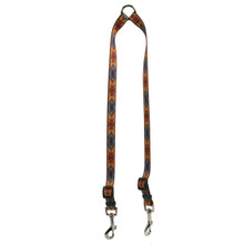 Indian Spirit Orange Coupler Dog Leash