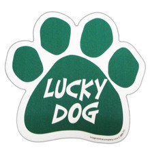 Irish Lucky Dawg Paw Magnet
