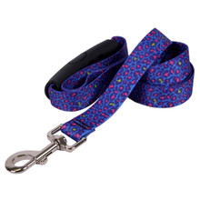 Neon Leopard EZ-Grip Dog Leash