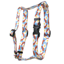 Bacon And Eggs Roman Style H Dog Harness