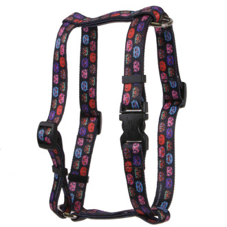 Cat Faces Roman Style H Dog Harness