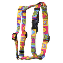Pop Art Dogs Roman Style H Dog Harness