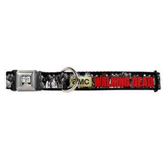 AMC The Walking Dead Zombies Buckle-Down Seat Belt Buckle Dog Collar