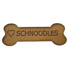 Love Schnoodles Bone Biscuits Magnet