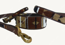 Earth Beaded Kenyan Dog COLLAR