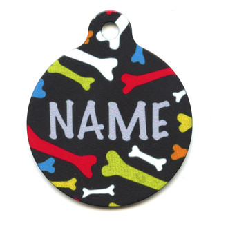 Crazy Bones HD Pet ID Tag