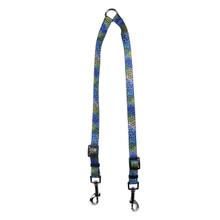 Flowerworks Blue Coupler Dog Leash