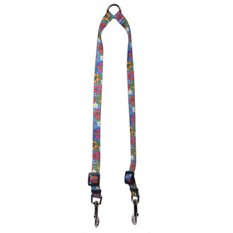 Hibiscus Paradise Coupler Dog Leash