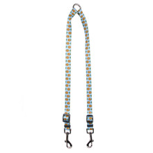 Pineapples Blue Coupler Dog Leash