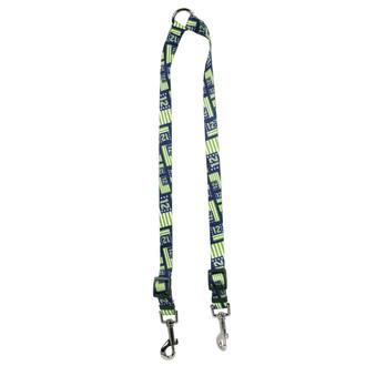 12th Dog Flags Coupler Dog Leash
