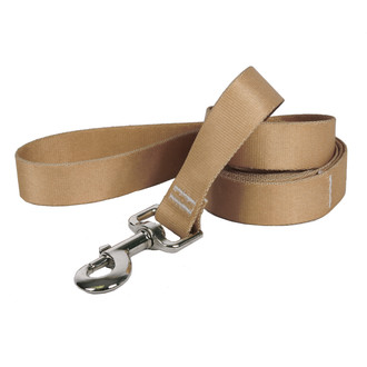 Tan Simple Solid Dog Leash