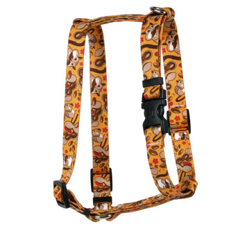 Chipmunks Roman Style H Dog Harness