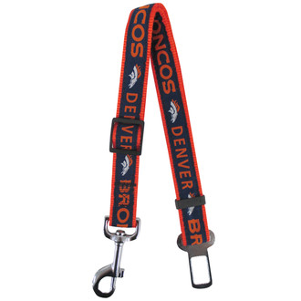 Denver Broncos Seat Belt Safety Restraint For Dogs