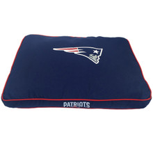 New England Patriots NFL Football RECTANGULAR Dog Bed
