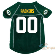 Green Bay Packers NFL Football Dog Jersey - CLEARANCE