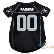 Oakland Raiders NFL Football Dog Jersey - CLEARANCE