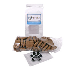 Hot Dog Biscuits Wheat Treats with Free Rescue Magnet