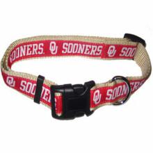 Oklahoma Sooners Dog Collar