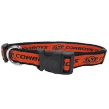 Oklahoma State Cowboys Dog Collar