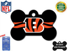 Cincinnati Bengals Pet ID Tag - With Engraving