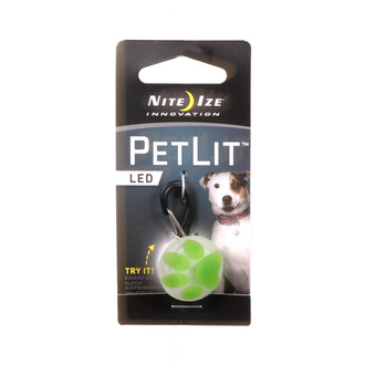 PetLit Paw Dog Collar Light