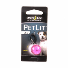 PetLit PINK Dog Collar Light