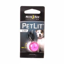 PetLit PINK Dog Collar Light