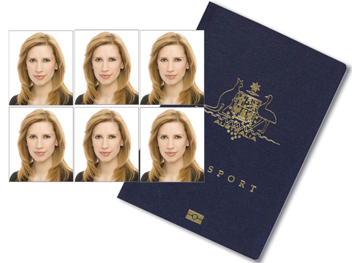 how to shoot a passport photo