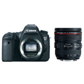 Canon EOS 6D Digital SLR including 24-70mm f/4L IS USM Lens