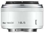 Nikon 1 Nikkor 18.5mm f/1.8 Lens for CX Format - White
