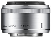 Nikon 1 Nikkor 18.5mm f/1.8 Lens for CX Format - Silver