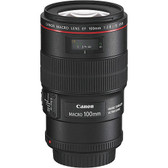 Canon EF 100mm F2.8L Hybrid IS USM Macro Lens