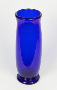 Cobalt Vase Art Glass