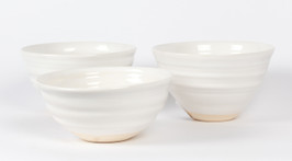 White Chic Bowl