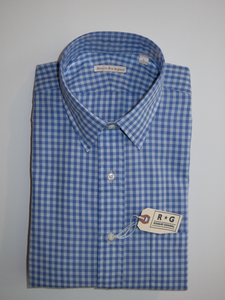 RG Light Blue Check Shirt