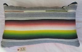 Vintage-blanket Pillow (large)
