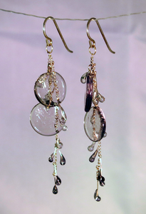 Earrings VJP Arret Smoke Discs