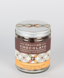 Dark Chocolate Toasted Almonds with Smoked Sea Salt