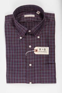 RG Purple and Gray Check