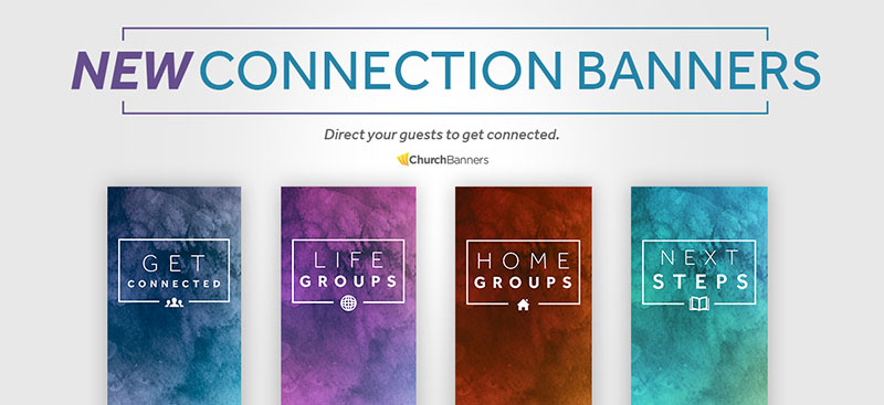 welcome center banners